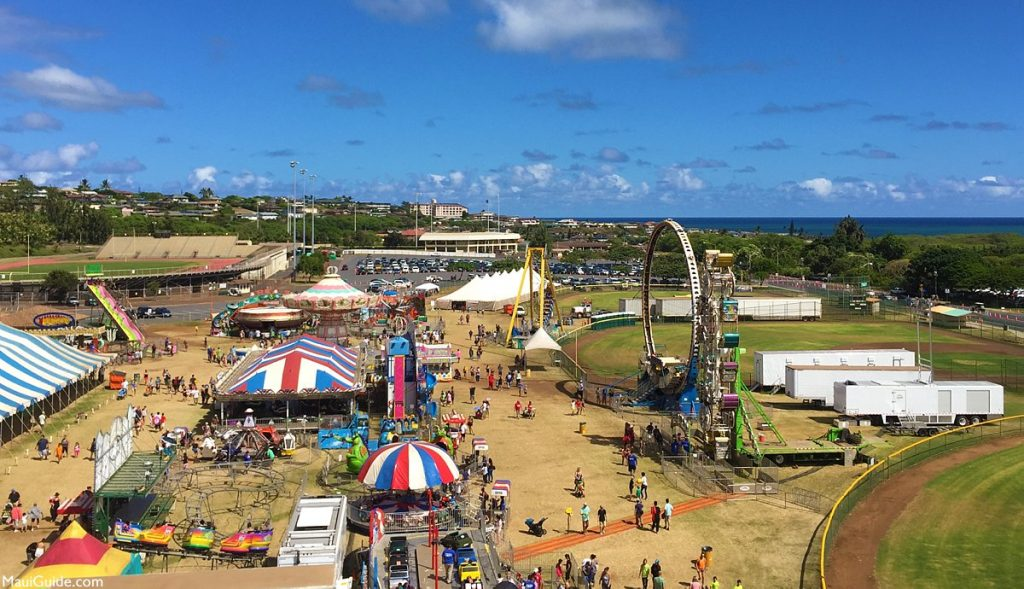 The 97th annual Maui Fair returns for another big year of fun, food and festivities near Sands of Kahana Resort