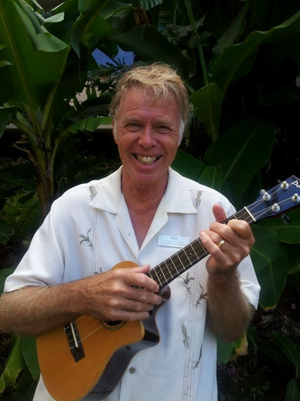 Bill Sayles, AKA Captain Billy Bones, leads activities at Sands of Kahana Resort in West Maui