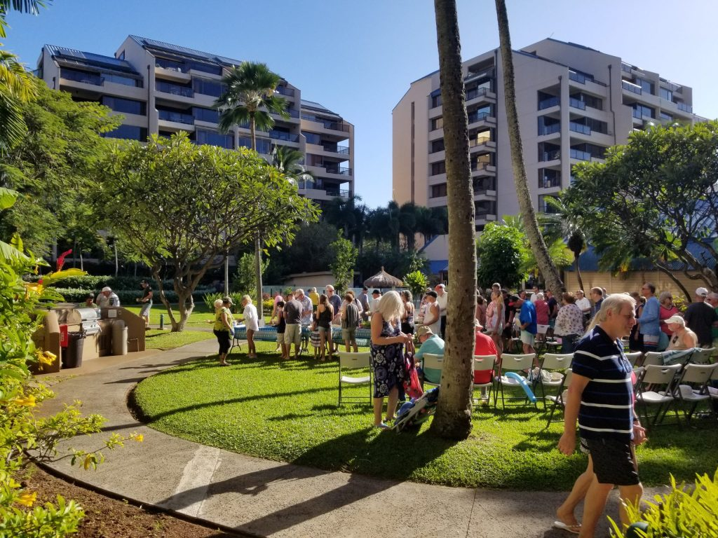 Sands of Kahana Resort Maui Mix `n Mingle